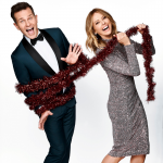 David & Allison with tinsel